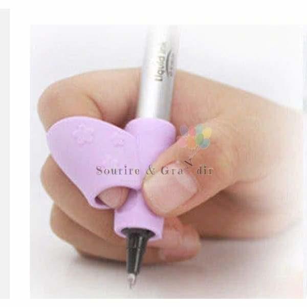 Aide-écriture pour droitier, silicone