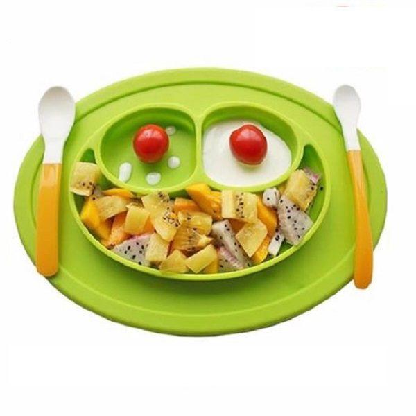 Assiette antidérapante pour enfant