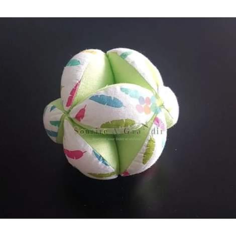 Balle de préhension, fait-main, Vert pomme*