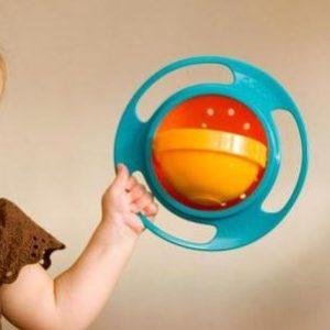 Bol 360 pour bébé, avec couvercle*