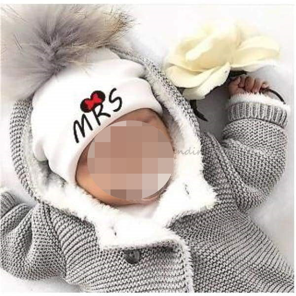 Bonnet pour bébé, Mr & Mrs