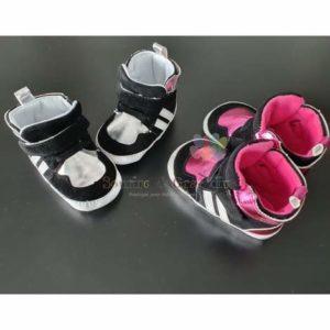 Chaussures souples pour bébé, Adidas style, à partir de 3M