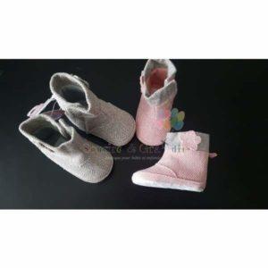 Chaussures souples pour bébé, bottines fille, à partir de 3M