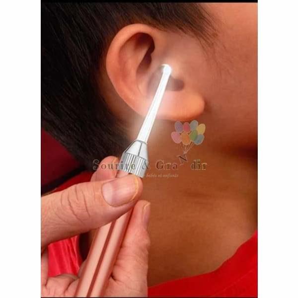 Cure-oreille lavable lumineux