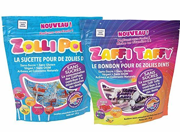 Mix : Zollipops + Zaffi Taffy, les bonbons bons pour la santé