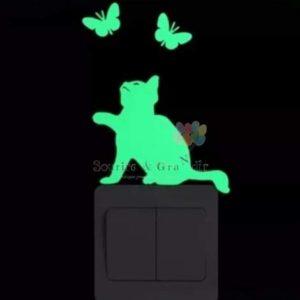 Stickers phosphorescent, Chat