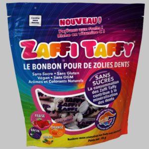 Bonbons Zaffi Taffy (Zollipops), les bonbons bons pour la santé
