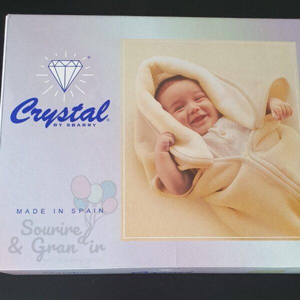 Couverture Crystal pour bébé, 4 couleurs