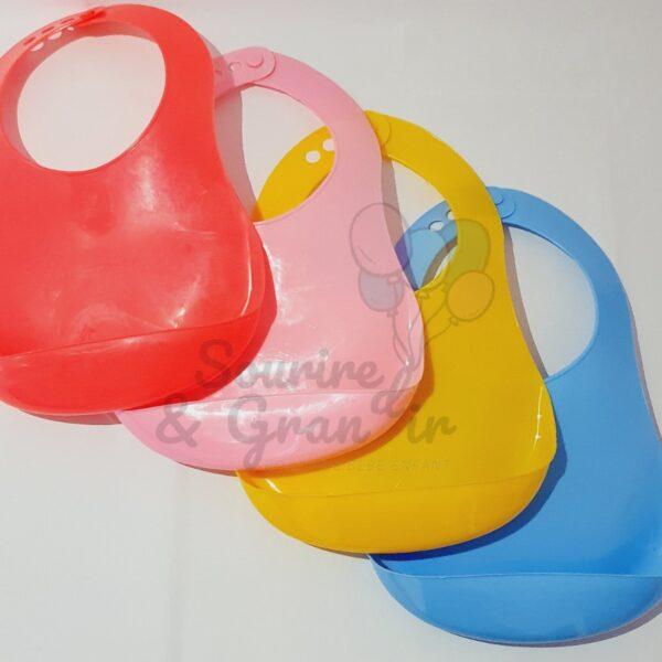 Bavoir récupérateur , 4 couleurs