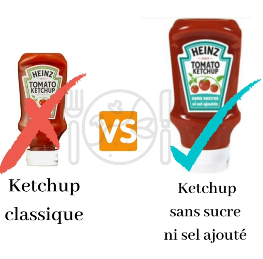 Le Ketchup pour les enfants, oui mais pas n'importe lequel.