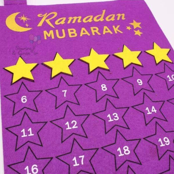 Calendrier Ramadan/Aid, Rose