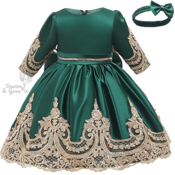 Robe de princesse satinée