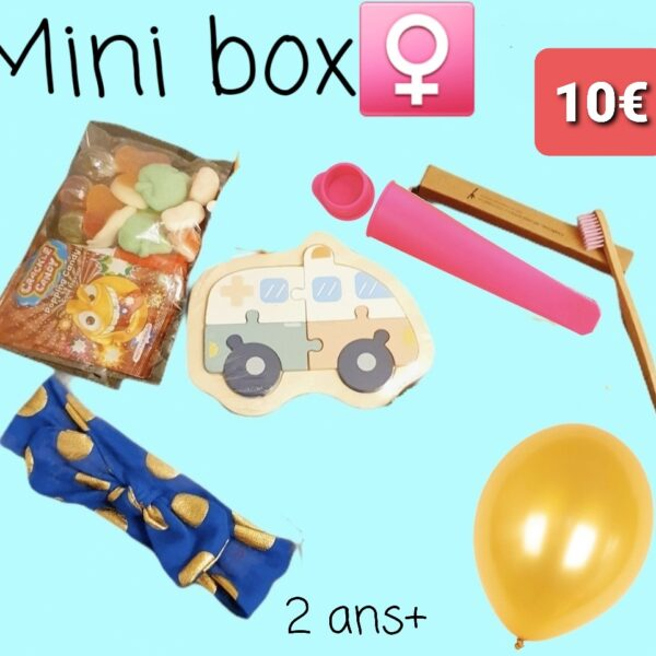 Mini box 2 ans+