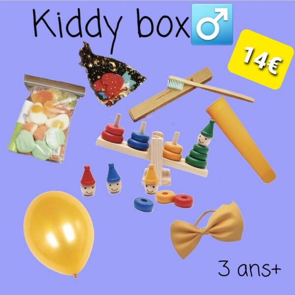 Kiddy box, balancier, 3 ans+